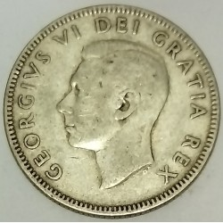 CANADA - KM 44 - 25 CENTS 1948 - GEORGES V - CARIBOU
