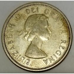 CANADA - KM 52 - 25 CENTS 1962 - ELISABETH II - CARIBOU