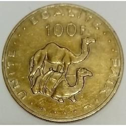 DJIBOUTI - KM 26 - 100 FRANCS 1977