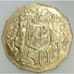 AUSTRALIA - KM 83 - 50 CENTS 1997