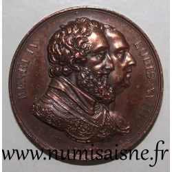 MEDAL - LOUIS XVIII - RESTORATION OF THE STATUE OF HENRI IV - By Gayrard