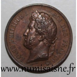 MEDAL - LOUIS PHILIPPE 1er - THE ARMY OF THE DUKE OF ORLEANS - PRINCE ROYALE -1842 - By Barre