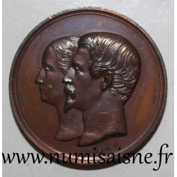MEDAL - WEDDING OF NAPOLÉON III AND EUGENIE - January 30, 1853 - By Caqué