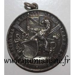 MEDAL - SWITZERLAND - ZURICH - REGATTA - 1899