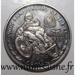 ISLE OF MAN - KM 784 - 1 CROWN 1997 - MOTO GUZZI