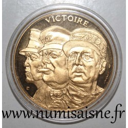 FRANCE - MEDAL - SECOND WORLD WAR 1939-1945 - VICTORY