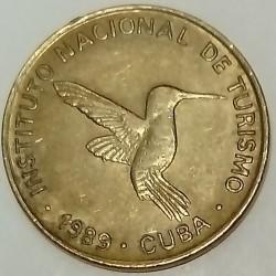 CUBA - KM 415.3 - 10 CENTAVOS 1989