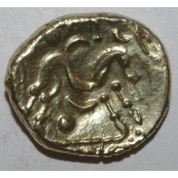 AMBIANI - AREA OF AMIENS - GOLD STATER UNIFACE - DISJOINTED HORSE