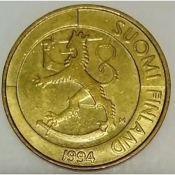 FINLAND - KM 76 - 1 MARKKA 1994 - LION
