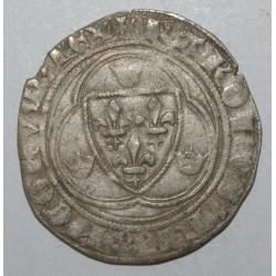 Dup 587 -CHARLES VIII 1483-1498 -BLANC A LA COURONNE -POINT 11eme St POURCAIN