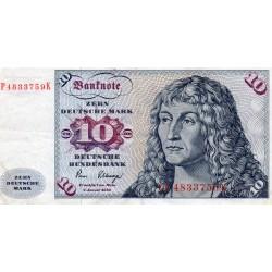 GERMANY - PICK 31 d - FEDERAL REPUBLIC - 10 DEUTSCHE MARK - 2.01.1980