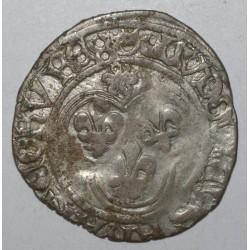 Dup 553 - LOUIS XI - 1461-1483 - BLANC AU SOLEIL - POINT 7eme - ANGERS