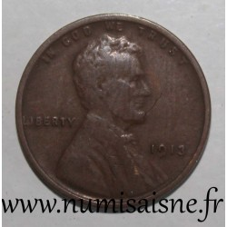 UNITED STATES - KM 132 - 1 CENT 1913 - Lincoln - Wheat Penny