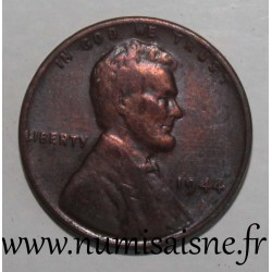UNITED STATES - KM 132 - 1 CENT 1944 - Lincoln - Wheat Penny