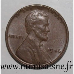 UNITED STATES - KM 132 - 1 CENT 1946 - Lincoln - Wheat Penny