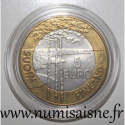 FINLAND - KM 118 - 5 EURO 2005 - WORLD HOCKEY CHAMPIONSHIP