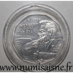 AUSTRIA - KM 3156 - 5 EURO 2008 - Conductor - Herbert von Karajan