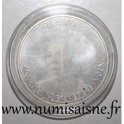 NETHERLANDS - KM 261 - 10 EURO 2005 - 25 years of reign of Queen Beatrix