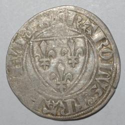 Dup 377 - CHARLES VI - BLANC GUENAR - 11 mars 1385 - 1ere EMISSION - TB+