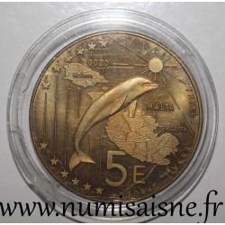 MALTA - 5 EURO 2004 - TRIAL COIN
