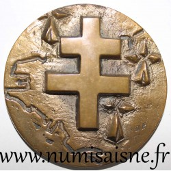 MEDAL - 40th ANNIVERSARY OF THE LIBERATION OF CHALONS SUR SAÔNE - SEPTEMBER 5, 1944