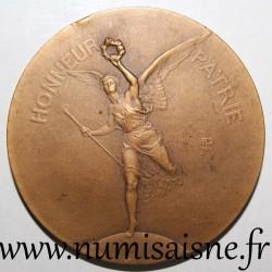 MEDAL - 02 - FEDERATION OF SHOOTING SOCIETIES OF FRANCE - FONDÉE LE 3 JUIN 1886