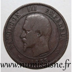 FRANCE - KM M24 - 10 CENTIMES 1853 - TYPE NAPOLEON III - VISIT OF LILLE