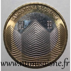 SLOVENIA - KM 101 - 3 EURO 2011 - 20 years of independence