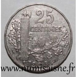 FRANCE - KM 856 - 25 CENTIMES 1904 - 2nd TYPE PATEY