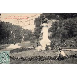 County - 62200 - PAS DE CALAIS - BOULOGNE-SUR-MER - STATUE OF DR. DUCHENNE