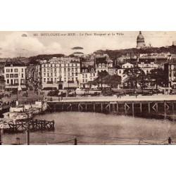 County - 62200 - PAS DE CALAIS - BOULOGNE-SUR-MER - THE MARGUET BRIDGE AND THE CITY