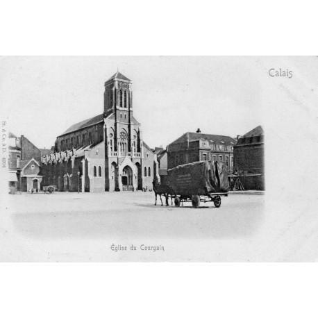 County - 62 - PAS DE CALAIS - CALAIS - COURGAIN CHURCH