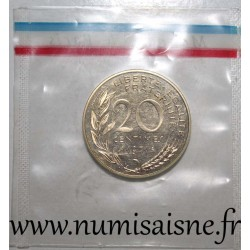 FRANCE - GADOURY 56 P1 - 20 CENTIMES 1983 - TYPE MARIANNE - PIEFORT