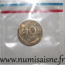 FRANCE - GADOURY 46 P1 - 10 CENTIMES 1971 - TYPE MARIANNE - PIEFORT