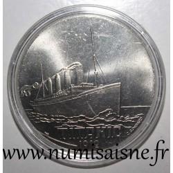 FRANCE - MEDAL - BOAT - TITANIC - 1912 - TRANSATLANTIC