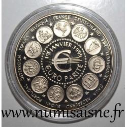 FRANCE - MEDAL - EUROPA - EURO PARITY - January 1, 1999