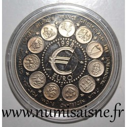 FRANCE - MEDAL - THE EURO OF 11 - 1998
