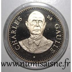 FRANCE - MEDAL - PRESIDENT CHARLES DE GAULLE - 1959 - 1969