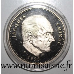 FRANCE - MEDAL - PRESIDENT JACQUES CHIRAC - 1995 - 2007