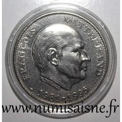 MEDAL - PRESIDENT FRANCOIS MITTERRAND - 1981-1995