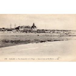 County - 62 - PAS DE CALAIS - CALAIS - OVERVIEW OF THE BEACH