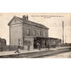County 59500 - DANNES-CAMIER - THE TRAIN STATION