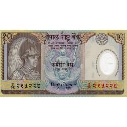 NEPAL - PICK 45 - 10 RUPEES - NICHT DATIERT (2002)