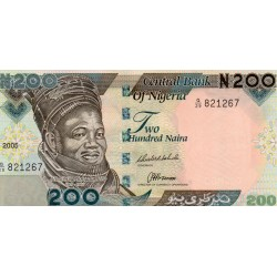 NIGERIA - PICK 29 d - 200 NAIRA 2005