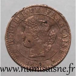 FRANCE - KM 826.1 - 1 CENTIME 1895 A - Paris - TYPE CERES