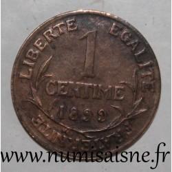 FRANCE - KM 840 - 1 CENTIME 1899 - TYPE DUPUIS
