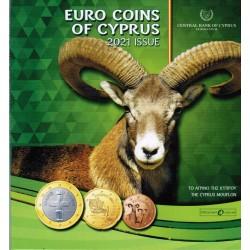 CYPRUS - MINTSET - 2021 - BU - MOUFLON - 3.88 euros