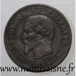 FRANCE - KM 776 - 2 CENTIMES 1856 A - Paris - NAPOLÉON III