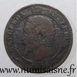 FRANCE - KM 776 - 2 CENTIMES 1855 B - Rouen - NAPOLEON III - Anchor