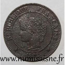 FRANCE - KM 827 - 2 CENTIMES 1892 A - Paris - TYPE CERES